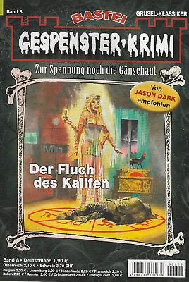 GESPENSTER-KRIMI Nr. 8 - Der Fluch des Kalifen - Frank deLorca - NEU