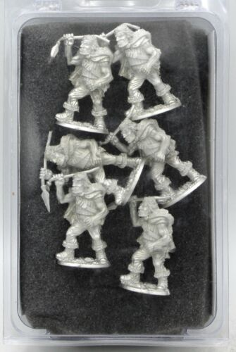 Ral Partha 02-782 Ogre Warriors with Spears (Fantasy Armies) Barbarian Infantry