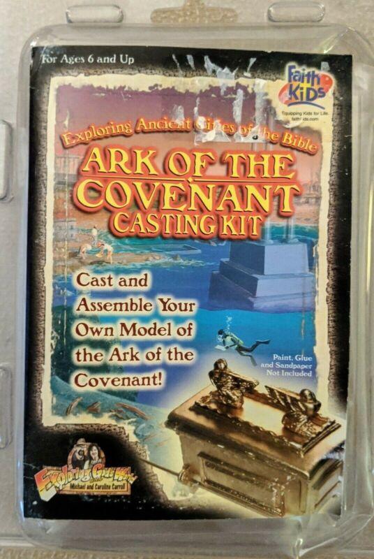 Ark of the Covenant Casting Kit: Cast and Assemble Your Own Model RARE HTF KK