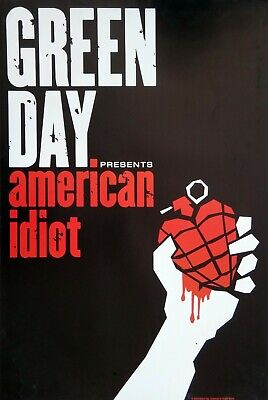 GREEN DAY AMERICAN IDIOT COMMERCIAL POSTER FROM 2004 - Album Cover Artwork - $19.99