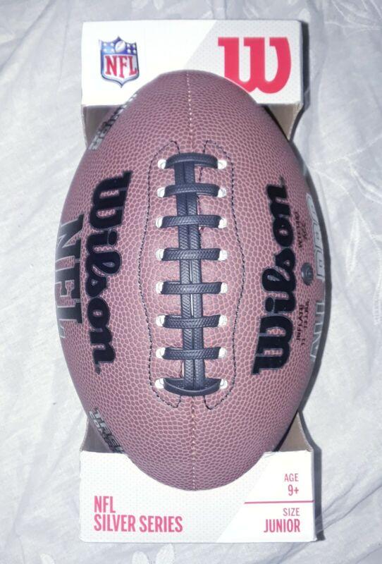 Wilson NFL Silver Series All Pro Football Composite Ball Size Junior WTFDNFLSS3