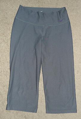 Womens Small S Nike Athletic Running Capri Leggings Yoga Workout Gym Pants