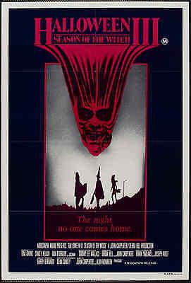 """Gerahmt Film Druck – Kult Horror Klassisch"""" Halloween 3 der Hexe """" ( Kunst) ()"""