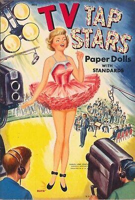 VINTAGE 1955 PIER ANGELI PAPER DOLL LASER REPRODUCTION~UNCT LO PR NO1 SELLR