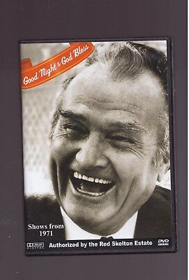 RED SKELTON GOOD NIGHT AND GOD BLESS DVD SHOWS FROM