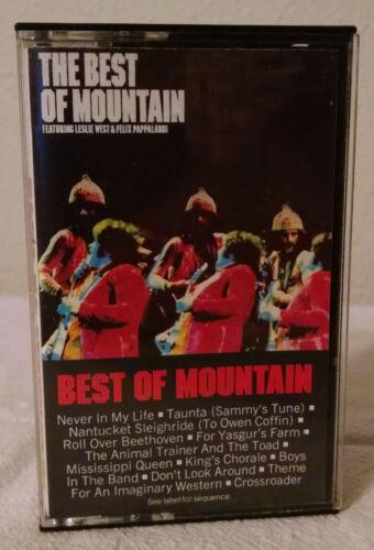 Mountain Best of Mountain Cassette Leslie West Felix Pappalardi Dolby Columbia
