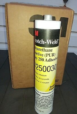 3m Scotch Ez250030 Polyurethane Reactive Pur Easy 250 Adhesive 5 Per Box
