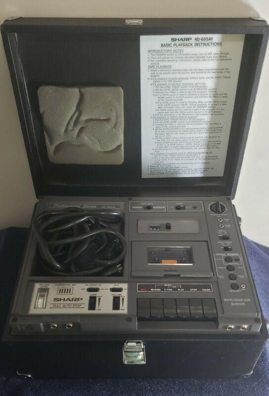 Sharp RD-685AV Cassette Recorder Sync Dissolve System PA System