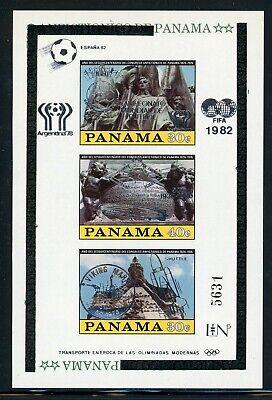 Panama SPACE MNH Selections: MICHEL BLOCK #114 Bolivar VIKING Mars SILVER $$$