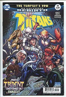 TITANS #14 - REBIRTH - BRETT BOOTH ART & REGULAR COVER - DC COMICS/2017