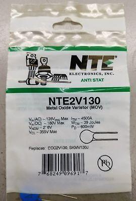Metal Oxide Varistor Mov Nte2v130 Ecg2v130 Skmv130j