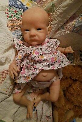 Reborn Baby Doll Sally Bonnie Brown SOLE