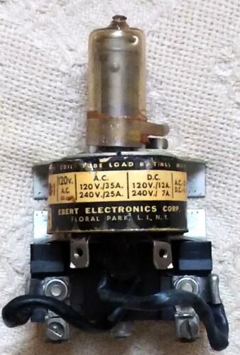 Vtg. Ebert Electronics Mercury Power Relay Model EM-1