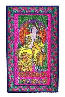 "Artist Bob Masse ""Zen Rizing"" Psychedelic Kimono Woman Iron On Applique Patch"