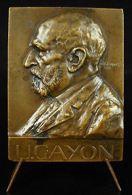 Medaglia Ulysse Gayon Biochimico Agronomo G V Leroux 1928 Cotta Bordelaise comprar usado  Enviando para Brazil