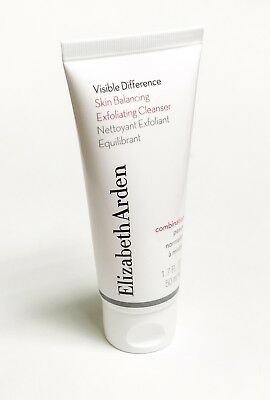 New Elizabeth Arden Visible Difference Skin Balancing Exfoliating Cleanser 50Ml