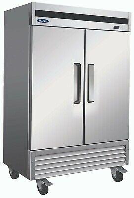 Alpha Ab54f 2 Door 1hp Bottom Mount Reach-in Freezer
