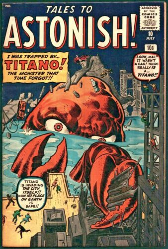 Tales to Astonish #10 Silver Age Atlas 6.0