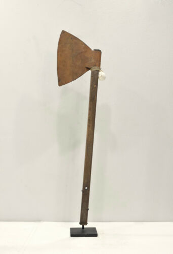 Papua New Guinea Ceremonial Dance Wood Dance Axe