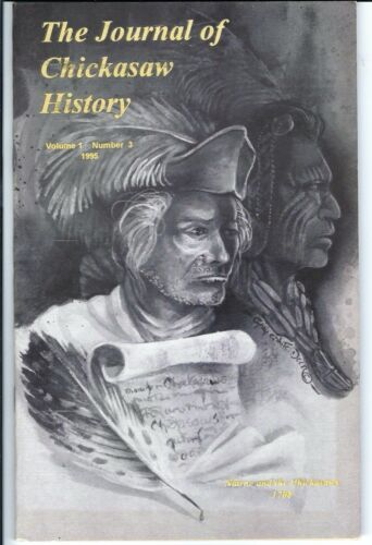Journal of Chickasaw History 1995 genealogy FREE S&H