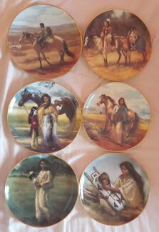 Franklin Mint Limited Edition Plates Excellent Condition