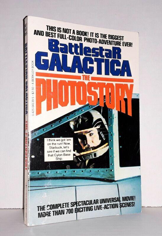 Battlestar Galactica The Photostory full color 1979