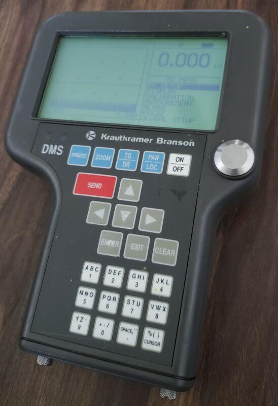 Krautkramer DMS Unit Ultrasonic Flaw Detecting Device