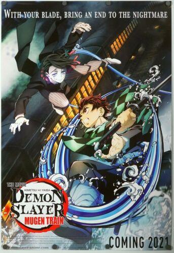 Demon Slayer - original DS movie poster 27x40 D/S - INTL B 2021 - Anime