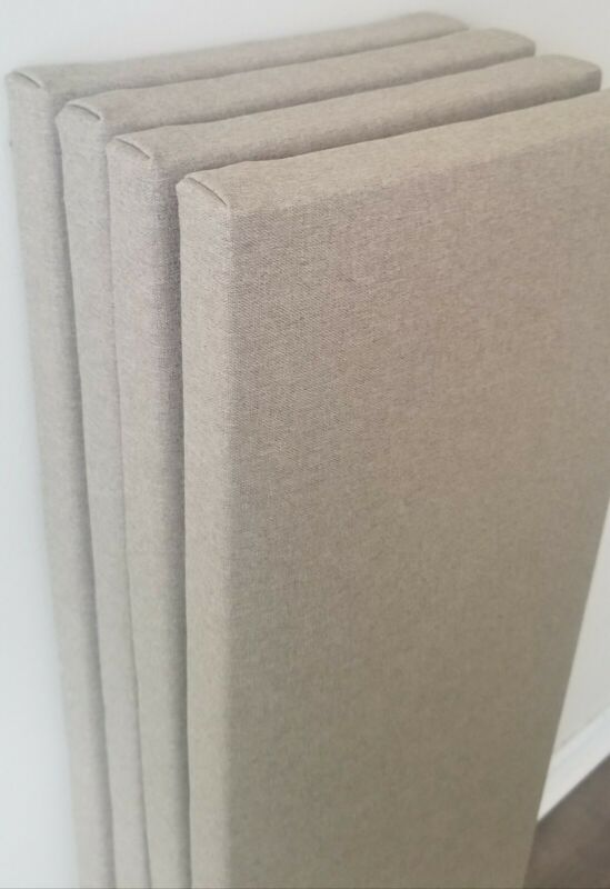 6 Narrow Sound Absorbing Acoustic Wall Panels