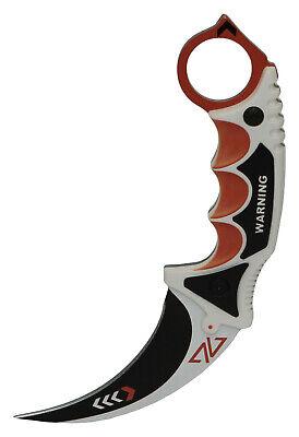 CSGO Karambit Messer- Asiimov Elite Real Knife Skins CSGO Sammelmesser Gaming FN