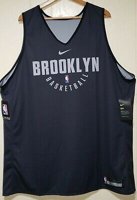 Nike NBA Brooklyn Nets Reversible Practice Jersey Mens 4XL NWT
