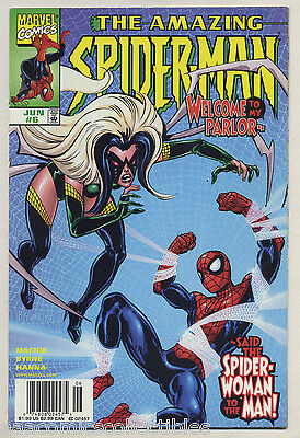 Amazing Spider-Man #6 1999 Newsstand Evil Spider-Woman Doc Octopus Byrne f - Evil Spider Woman