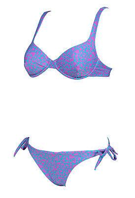 ARENA Bügel Bikini Größe 40 violett/grün 4438820