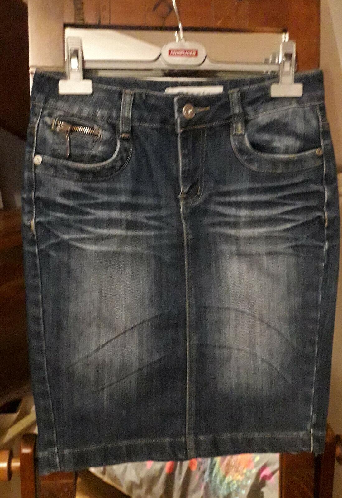 Jupe en jean 36