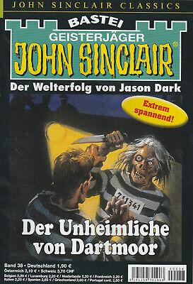 JOHN SINCLAIR CLASSICS Nr. 38 - Der unheimliche von Dartmoor - Jason Dark - NEU