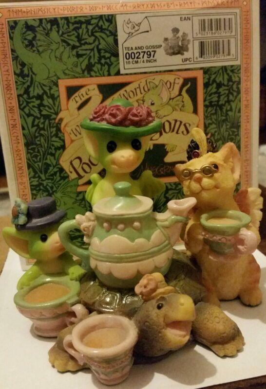 RC💖Pocket Dragons Dragon*Mint in Box*Collectors Special*🌸Tea and Gossip🌸*2000