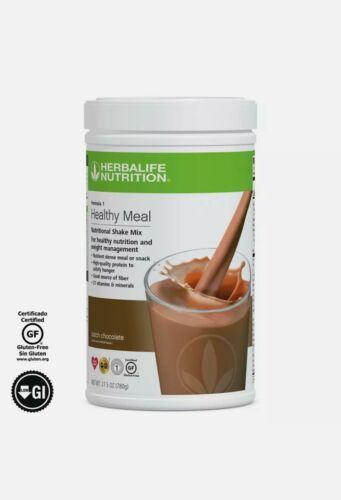 Herbalife Formula1 Healthy Meal Nutritional Shake Mix Dutch Chocolate 780g