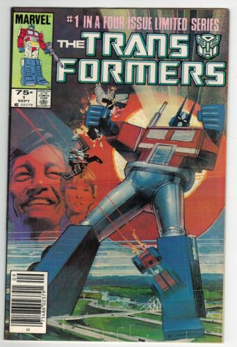 Transformers #1 1st Print First Appearance of Autobots Newsstand Key Book HG WP