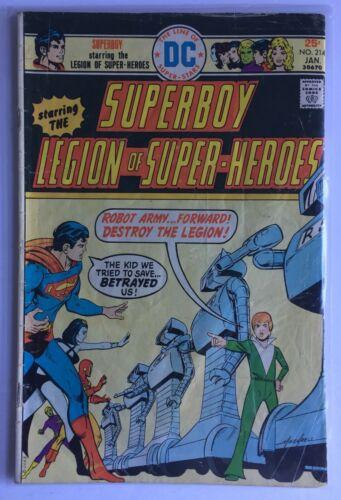 Superboy #214 (Jan 1976, DC)