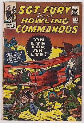 Sgt. Fury and His Howling Commandos #19 - Very Good - Fine Condition.