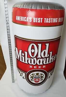 Beer Can Old Milwaukee /Light XL INFLATABLE Bar MAN CAVE PHOTO PROP TAILGATE fun - Old Milwaukee Light