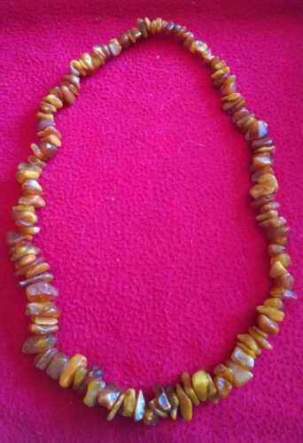 Vintagel Amber Beads Necklace