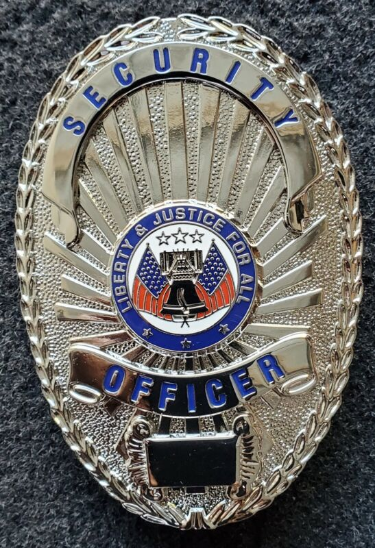 Security Officer Badge - SILVER