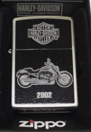 Special Edition Harley Davidson 2002 Motorcycle Zippo Lighter