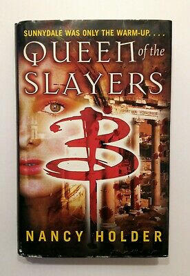 buffy the vampire slayer queen of the slayers horror book 1st edition 2005 vgc for sale  Shipping to South Africa