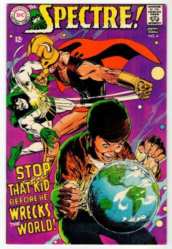 SPECTRE #4 - Adams Cover & Art - VF/NM DC 1968 Vintage Comic