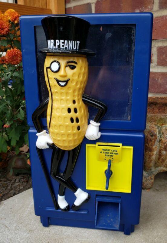Rare Vintage Mr Peanut Vending Machine