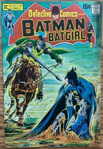 DETECTIVE COMICS PRESENTS BATMAN AND BATGIRL #412 (DC,1971) BRONZE AGE ~