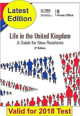 Life in the United Kingdom UK Handbook 3rd Edition Citizenship Test Book  for sale  Doncaster