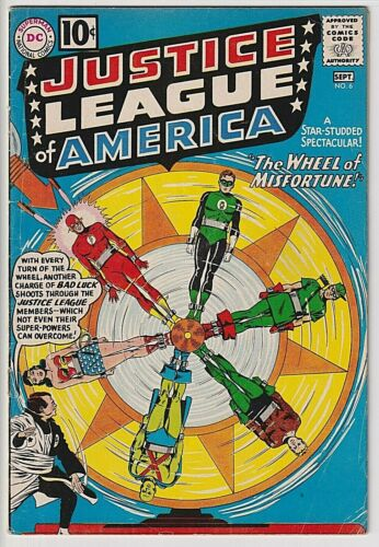 Justice League of America #6  VG/F 5.0